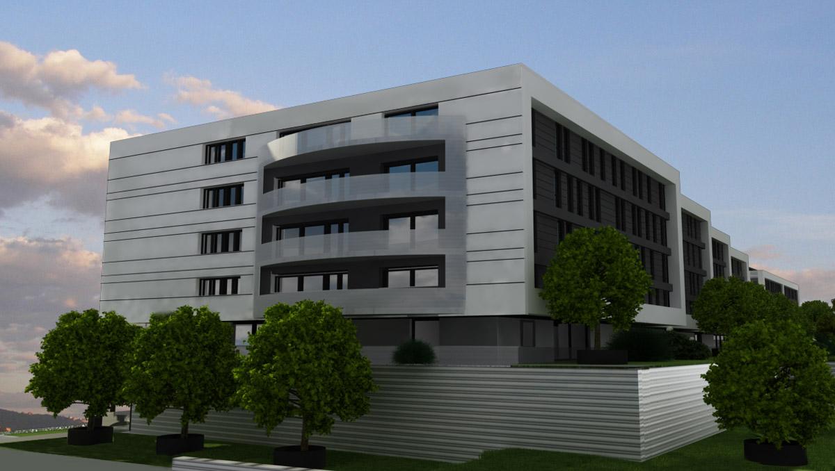 studio architettura soldano progetto per un complesso